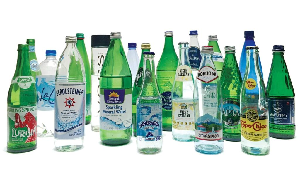 Store bought sparkling water brands